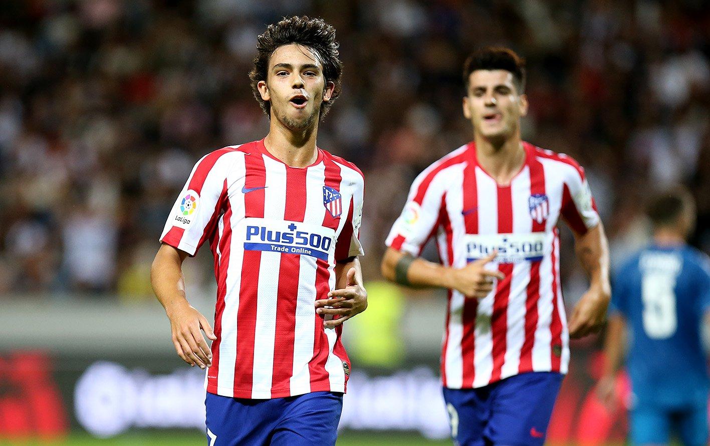 João Félix celebrates for Atlético