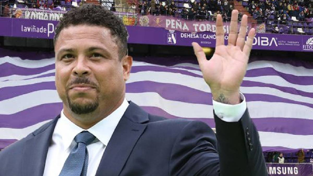 Ronaldo at the José Zorrilla stadium, Valladolid-