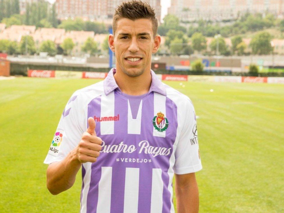 Rubén Alcaraz of Real Valladolid.