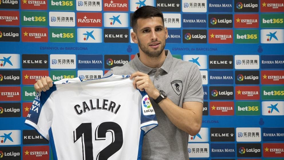 Jonathan Calleri is Espanyol's latest signing