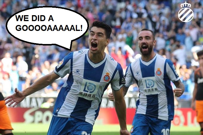 "Marc Roca: ""We did a goal!"""